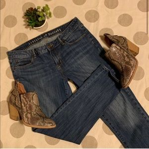 Articles of Society Skinny Cropped Ankle Jeans